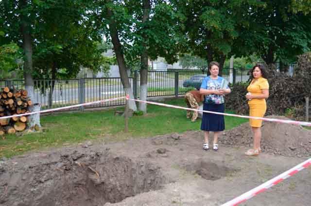 У чигиринській школі розпочато будівництво теплогенераторної