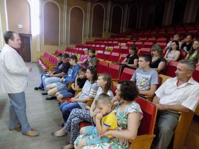 Відбувся урок польської мови для жителів Кам'янського району