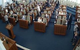 Відсутність кворуму не дозволила провести засідання сесії обласної ради