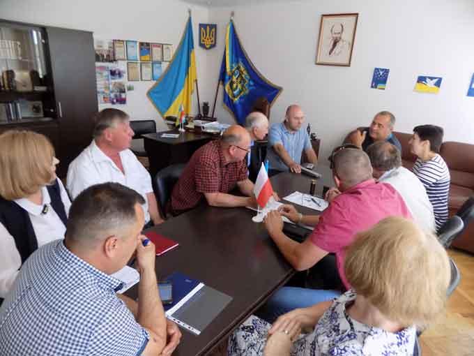 Вирішенням проблемних питань реконструкції очисних споруд РКП «Кам'янський водоканал» займались у РДА
