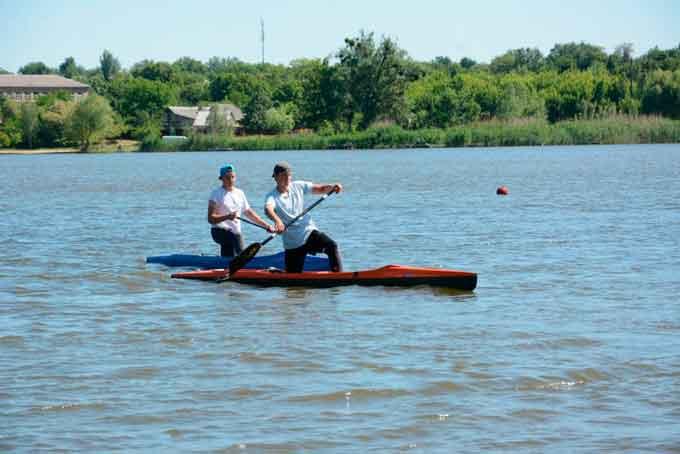 Завтра у Смілі пройдуть щорічні змагання серед ветеранів з веслування на байдарках та каное