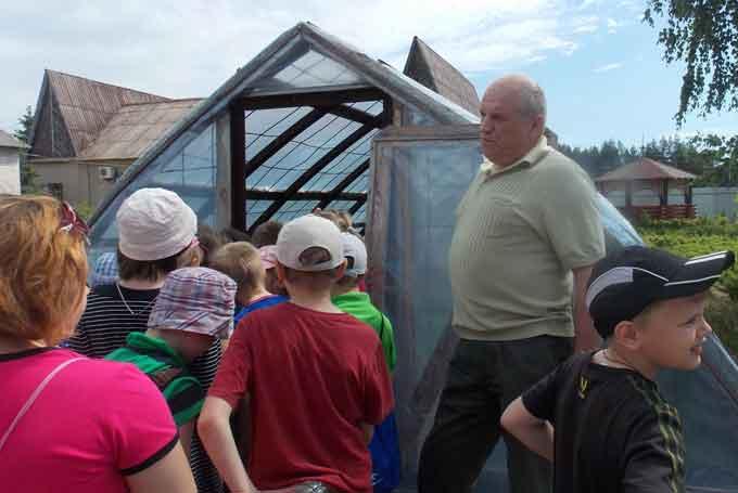 Чигиринські лісівники провели екскурсію школярам з особливими потребами