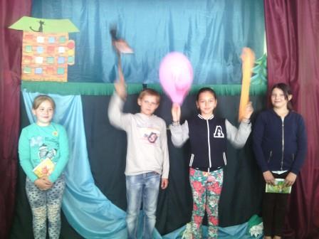 У Шполі у Казковому містечку запрацював театр ляльок