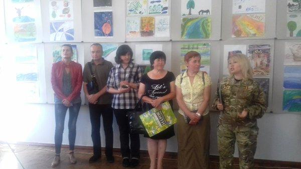Виставку робіт бійців АТО відкрили в художньому музеї