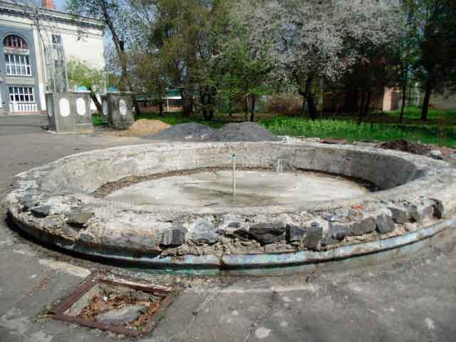 фонтан у Ватутіному