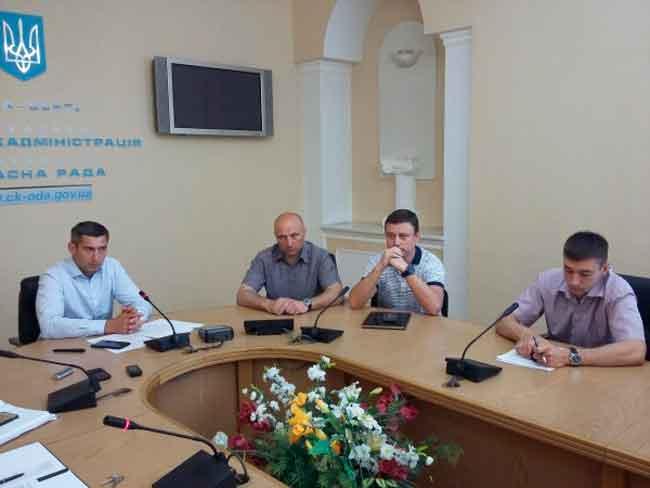 На Черкащині координують дії служб на час ремонту мосту
