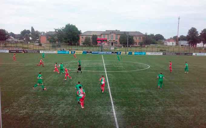 В Білозір'ї відбувся 8-й тур вищої ліги чемпіонату області. Команда