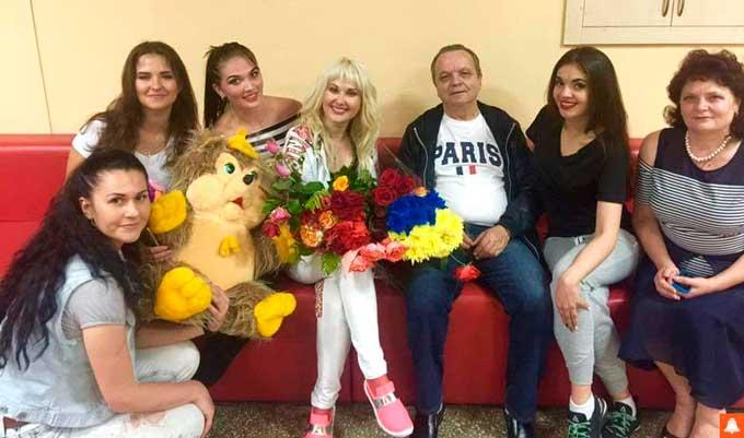 На концерті Катерини Бужинської в Тальному прозвучала прем'єра пісні