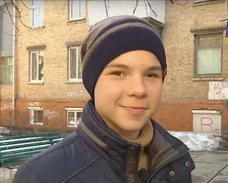 Черкаський школяр отримав медаль від Президента України