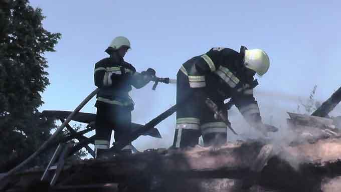 За минулу добу пожежі в області виникали лише у Шполянському районі
