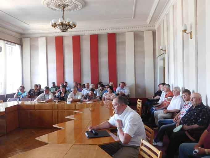 На Чорнобаївщині провели семінар-нараду з питання утримання свинопоголів'я