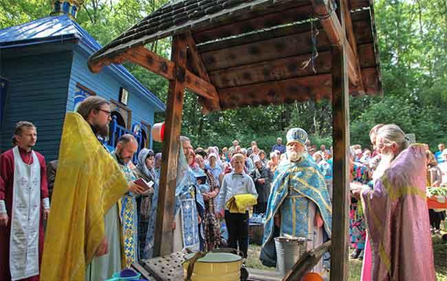 У смілянському лісі знову лунали молитви