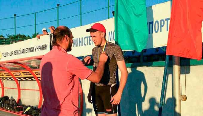 Вихованець ЧІПБ став призером Чемпіонату України з легкої атлетики