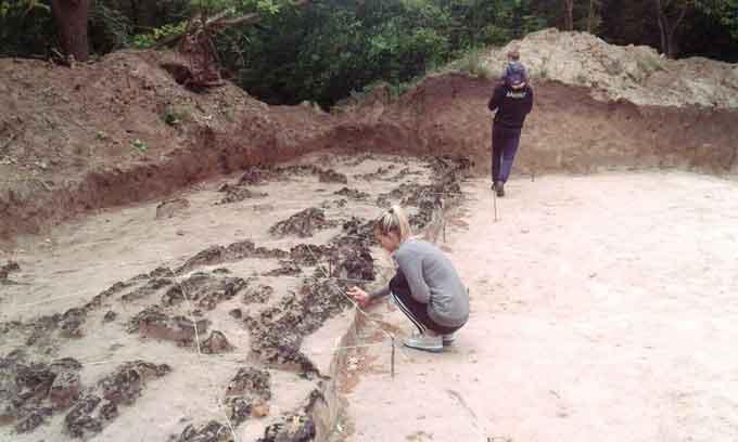 В Бучаку знайшли залишки великого городища (фото)