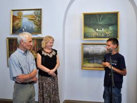 В обласному художньому музеї любов до природи демонструє майстер живопису Анатолій Кушнір