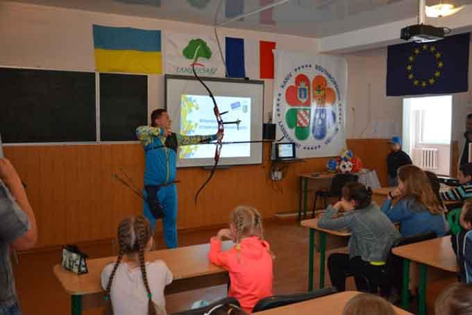Всеукраїнський проект #Оlympic Lab завітав до міста Канів на Черкащині