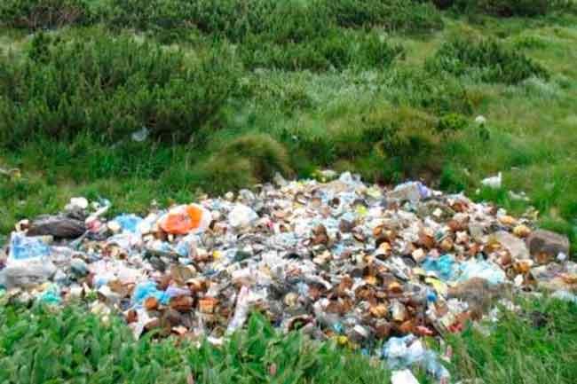 На Черкащині військові закопували сміття у лісі