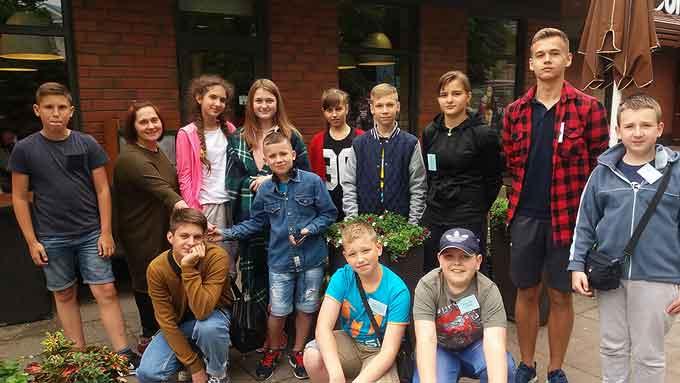 Юні уманчани відвідали місто Радвілішкіс (Литва)