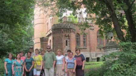 У Монастирищі працювали волонтери Корпусу Миру