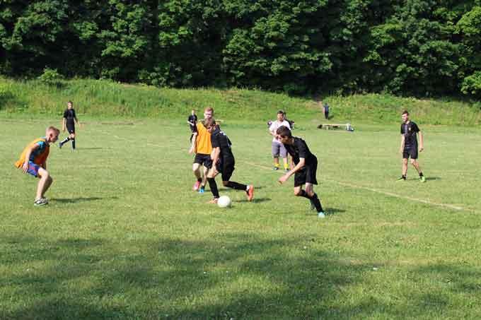 У Чорнобаї відбувся турнір з футболу, присвячений Дню Конституції України