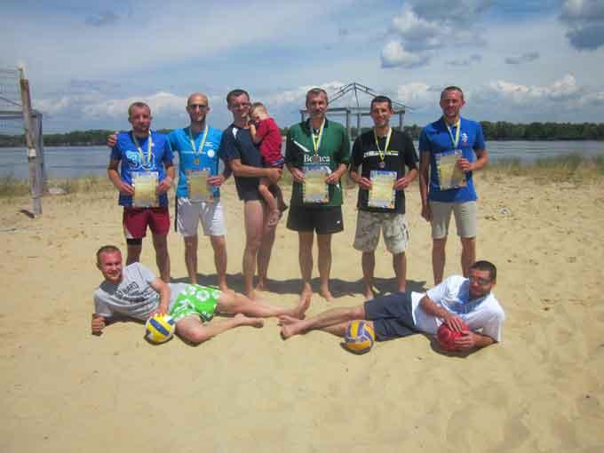 Проведено Відкритий Чемпіонат Канівського району з пляжного волейболу