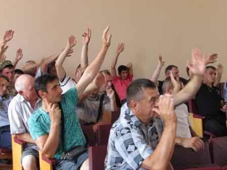 У Шполянській міській раді відбулись громадські слухання