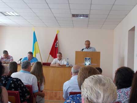 Відбулося засідання 19-ї позачергової сесії Корсунь-Шевченківської районної ради