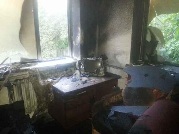 У Драбівському районі під час пожежі загинув господар