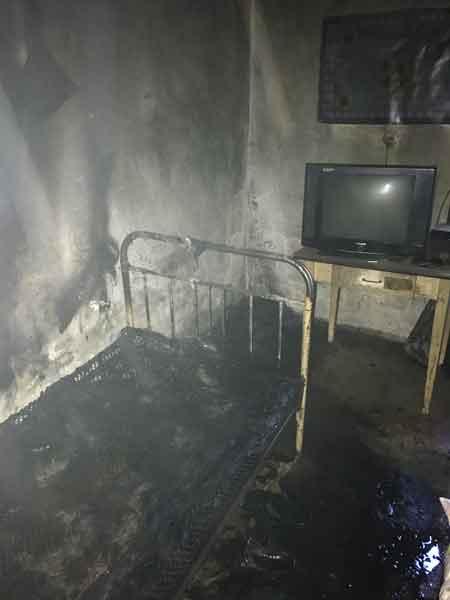 У Катеринопільському районі під час пожежі загинув господар (фото)
