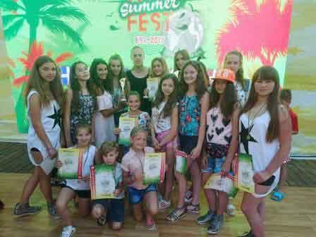 Шполянський «Еліт» отримав винагороди на фестивалі «Art Summer Fest» у Болгарії