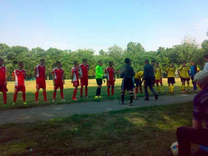 Відбувся Супер Кубок Драбівського району з футболу