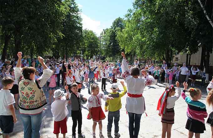 У Городищі відкрився 18-й сезон православного дитячого табору «Надія»