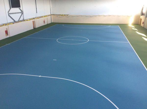 У білозірській академії футболу з'явилося нове футзальне покриття