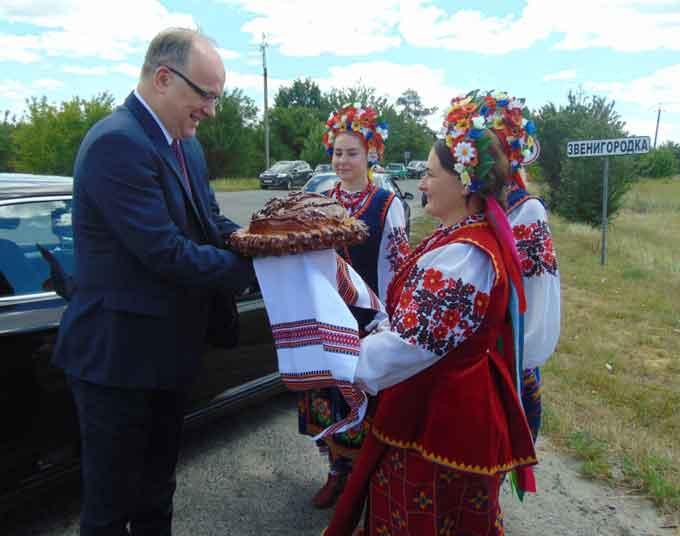 Перший радник Консульського відділу Посольства Республіки Польща у Києві побував на Звенигородщині