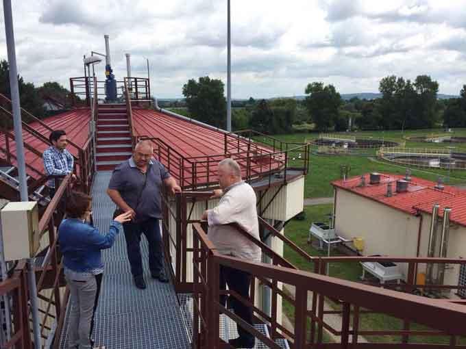 Очільник Сміли вивчав у Польщі досвід якісного водопостачання