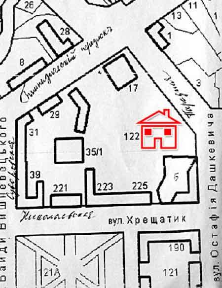 Учителі знайшли місце будинку в Черкасах, де бував Паустовський