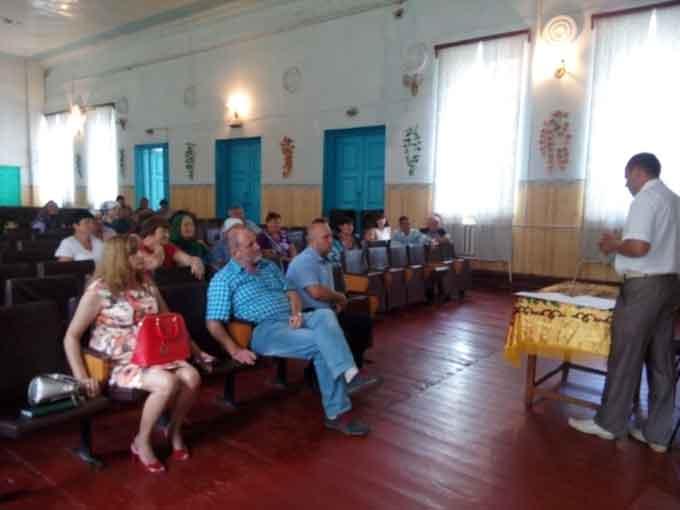 Відбулися загальні збори громадян села Лузанівка