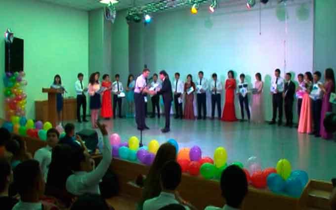 Сотня студентів із Туркменістану отримали диплом бакалавра (відео)