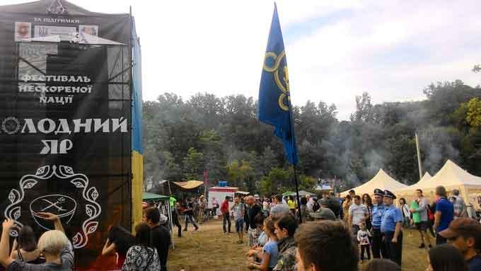 На Кам'янщині відгримів фестиваль нескореної нації «Холодний Яр»