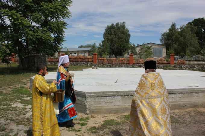 У Черкасах започатковано будівництво Михайлівського храму