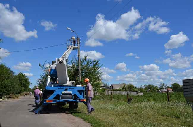 Вже 11 діб долають стихію на Чорнобаївщині (фото)