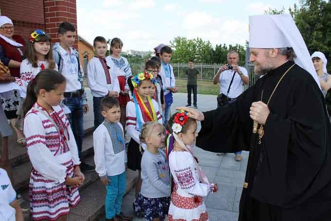 Митрополит Іоан із архіпастирським візитом відвідав Тальне