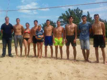В Чигирині пройшли змагання з пляжного волейболу