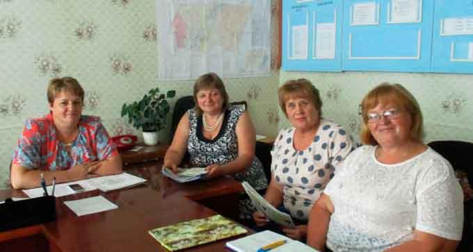 Тетяна Богославець побувала з робочим візитом у Безбородьках