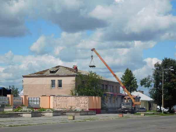На Чорнобаївщині продовжуються роботи з ліквідації наслідків стихійного лиха (фото)