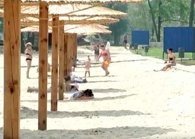 У Черкасах збудують ще два «карибські» пляжі