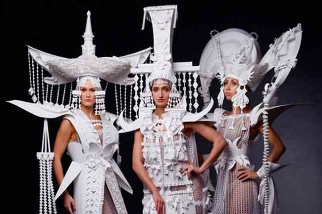 Паперова мода: черкащанка створює космічні наряди для модних журналів та рекламних кампаній (фото)