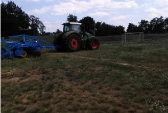 У Келеберді розпочали реконструкцію місцевого стадіону