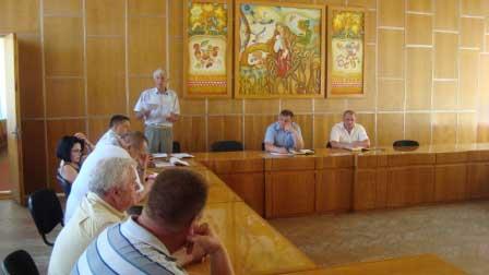 Відбулося зібрання Спілки сільгосптоваровиробників та фермерів Монастирищини