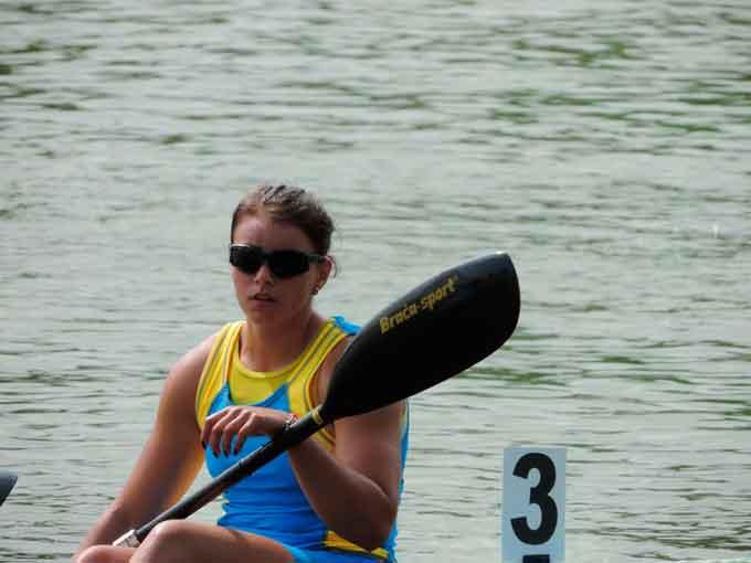 Студентка УДПУ Юлія Юрійчук захищала честь України на чемпіонаті Європи з веслування на байдарках і каное
